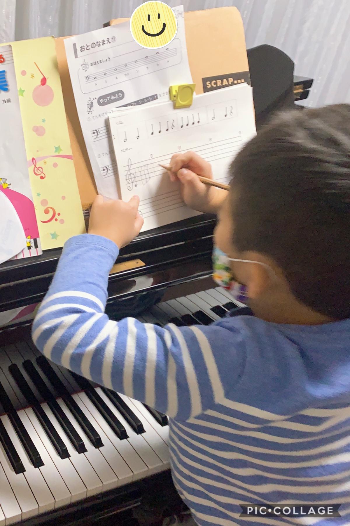 「音符が書けた!」ひと回り大きくなった生徒さんたち🎄