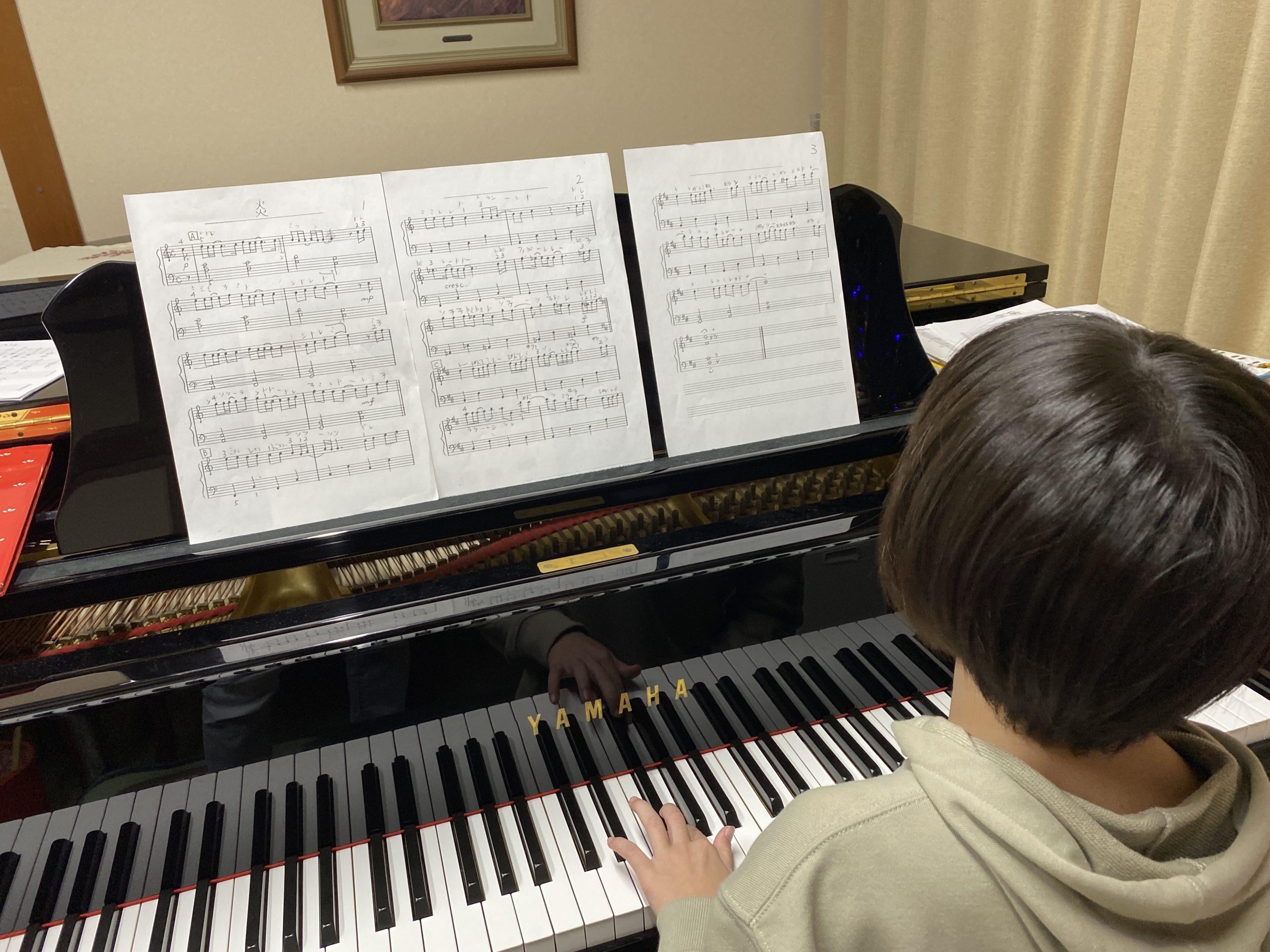 <No.49>なぜ「楽譜を見ない子」は成長スピードが速いのでしょうか?!