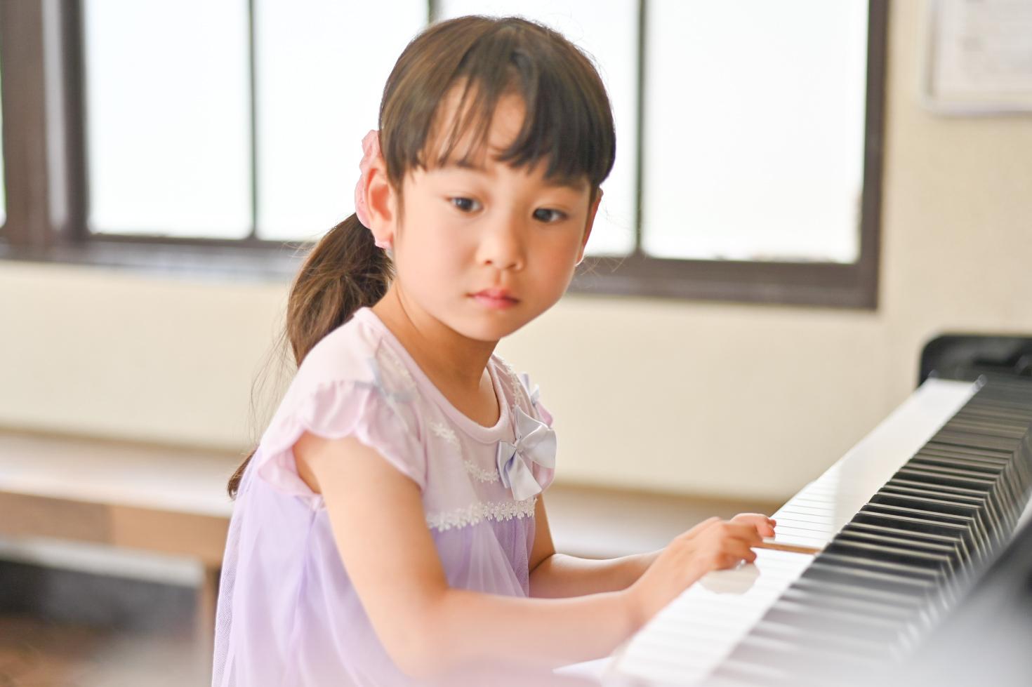 <No.171>ピアノを弾かない子は今「無音」という曲を弾いています